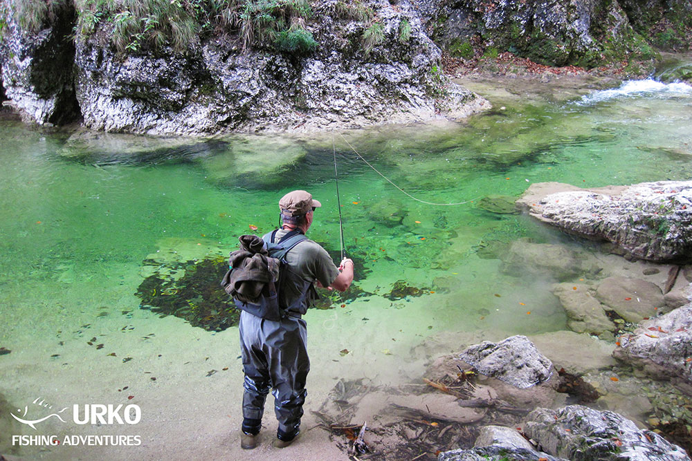 Urko Fishing Adventures Angling Service Fly Fishing Iska River Slovenia