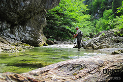 Urko Fishing Adventures FlyFishing Slovenia River Iška