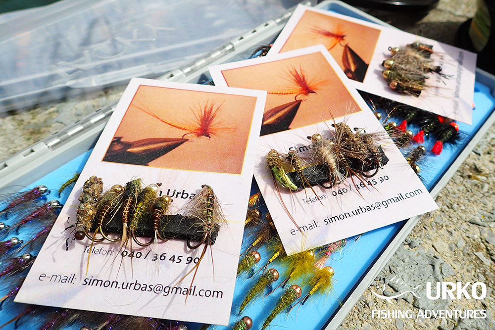 Urko Fishing Adventures Angling Service Fly Fishing Flies Slovenia