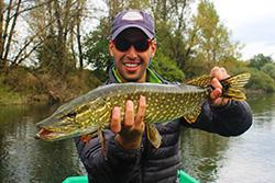 Urko Fishing Adventures Fishing for pike Slovenia